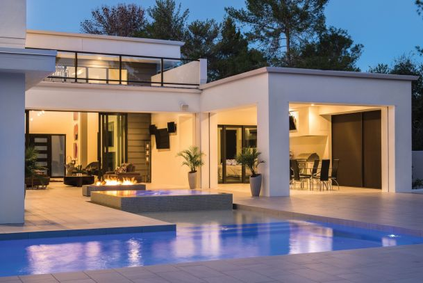 Human Centric Lighting Beverly Hills, CA, Smart home automation, high end homes, Indoor Tech, Fuzion3